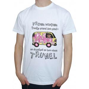 T-shirt homme - Pooky prend son pied dans le van